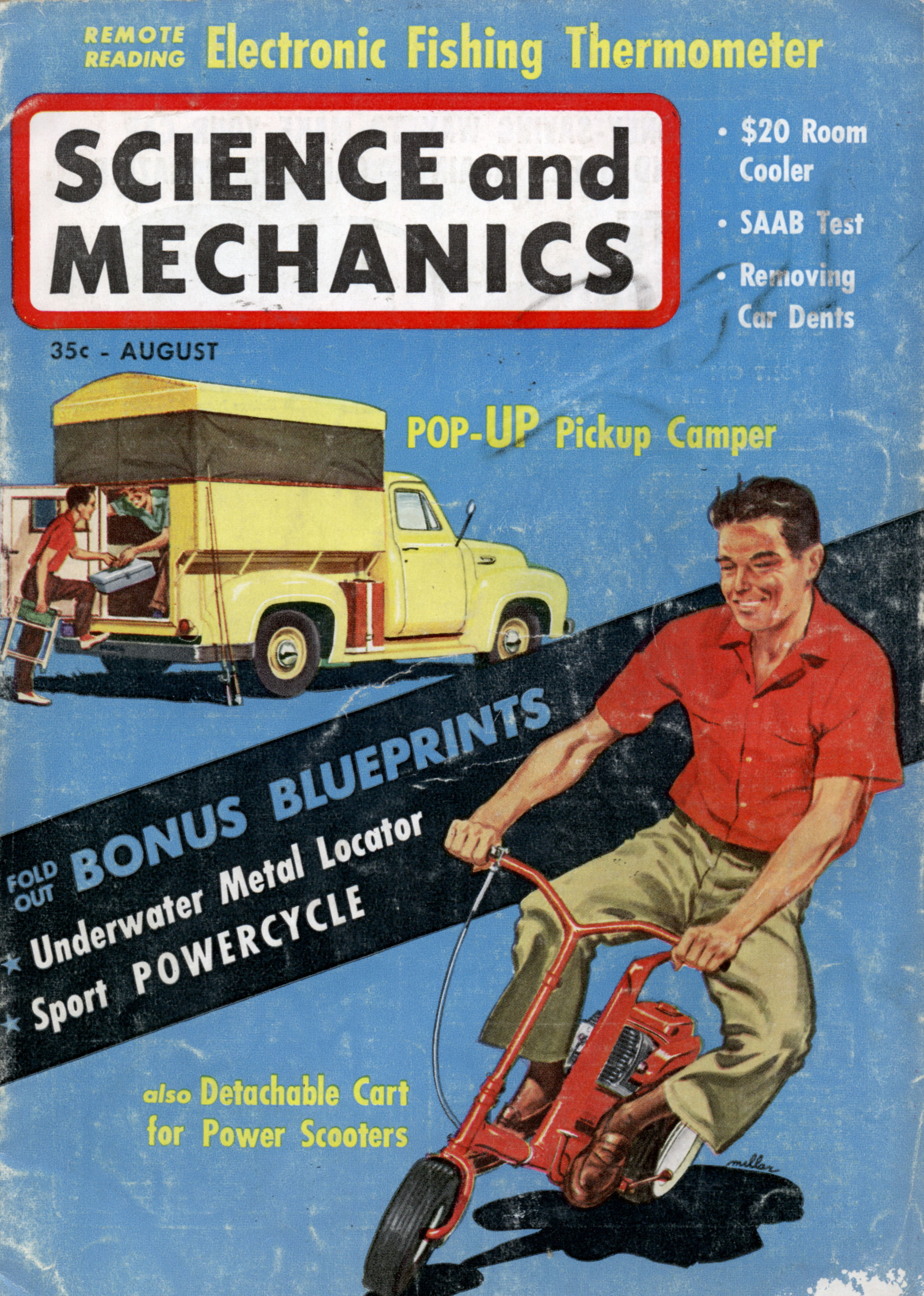 Science And Mechanics Aug 1960 Modern Mechanix