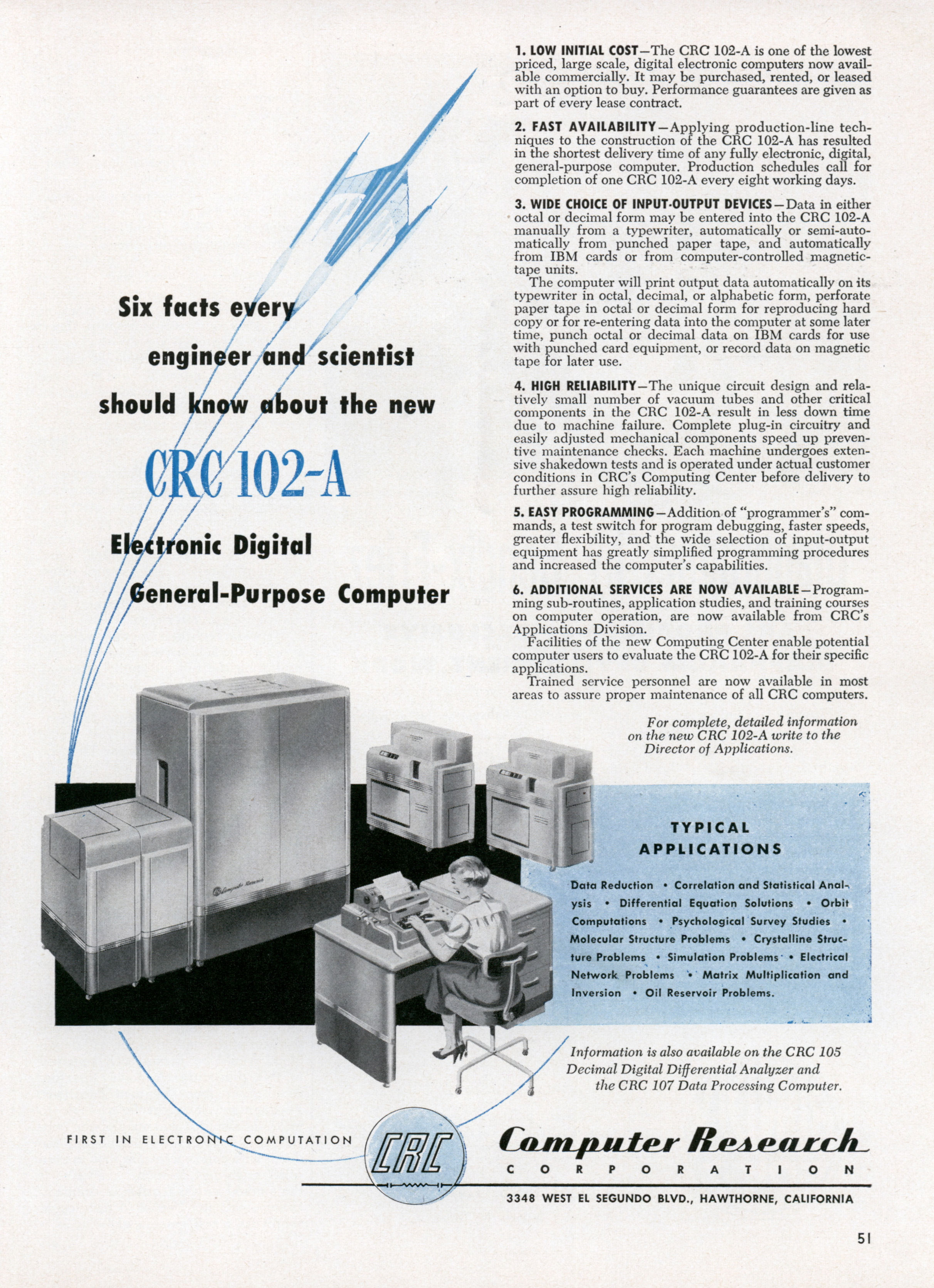 Ad Six Facts Every Engineer And Scientist Should Know About The New. Ad Six Facts Every Engineer And Scientist Should Know About The New Crc102a Jun 1953. Wiring. Magic Switch Wiring Diagram Cr4c At Scoala.co
