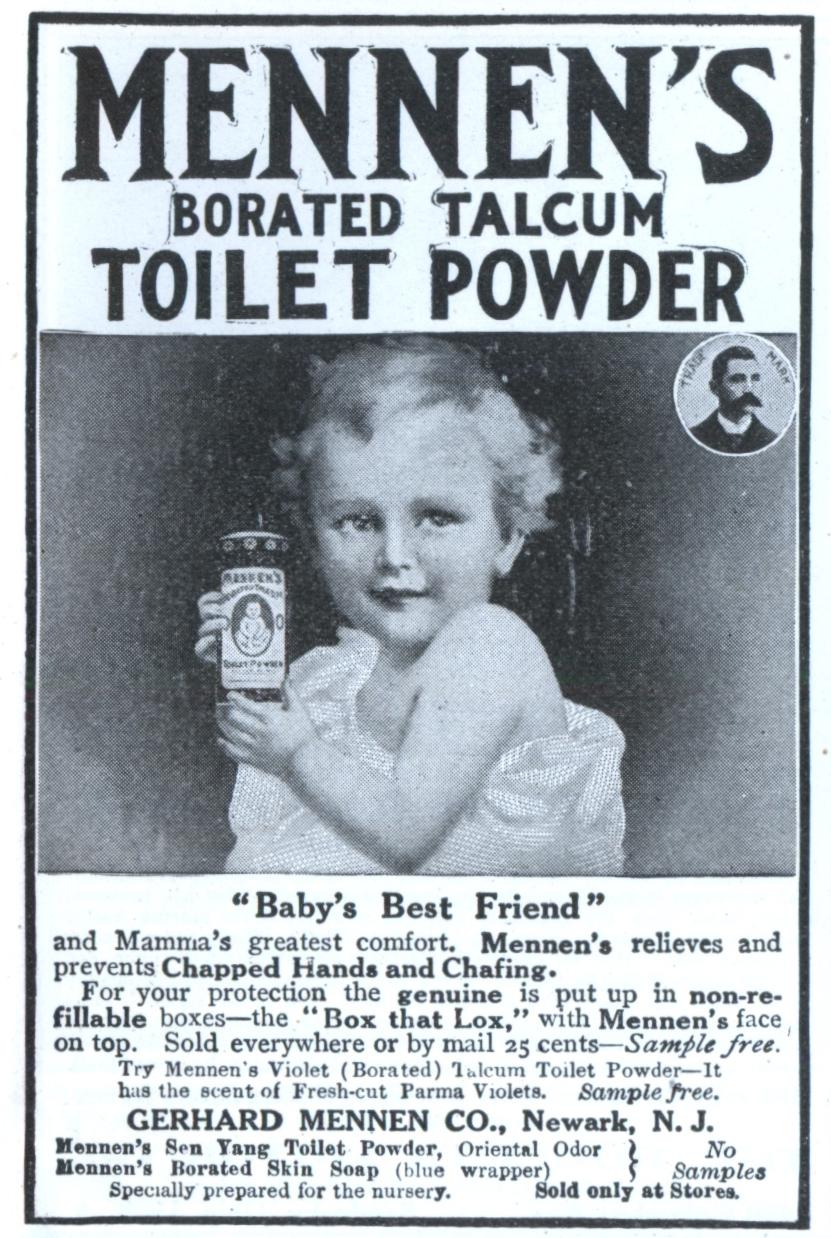 Greatest MENNEN'S BORATED TALCUM TOILET POWDER | Modern Mechanix FL32