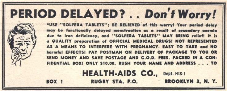 Delay menses medication