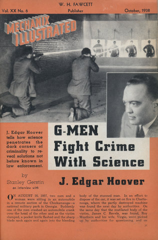 a study of john edgar hoover and the g men The little-known j edgar hoover one of the kindest and most decent men i have ever it is true that john edgar hoover was an absolute dictator and a swift.