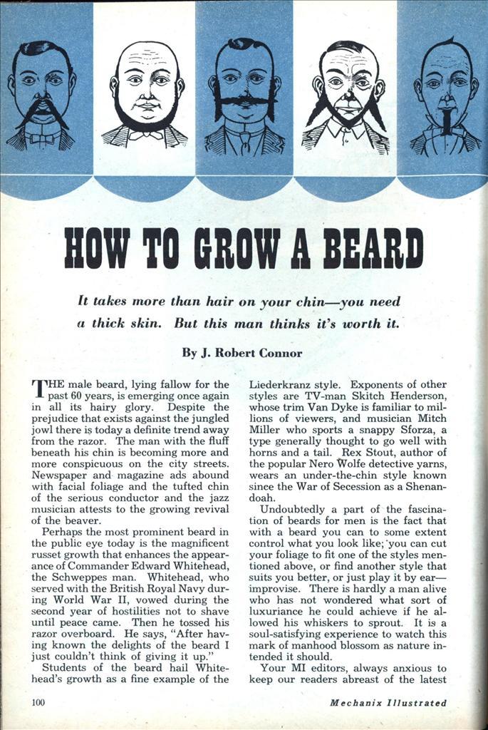 beard styles how to grow a beard mens hairstyle trends how to grow a beard modern mechanix. Black Bedroom Furniture Sets. Home Design Ideas