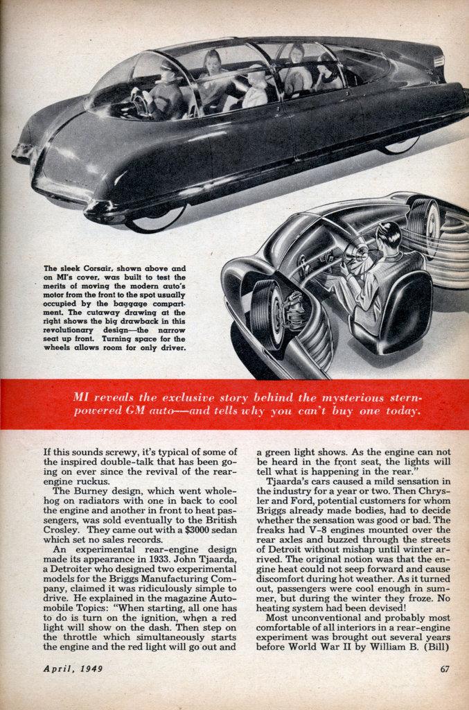 General Motors' Rear-Engine
