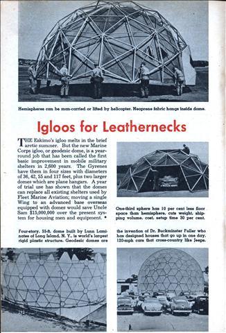7c11e02c4af5 Igloos for Leathernecks