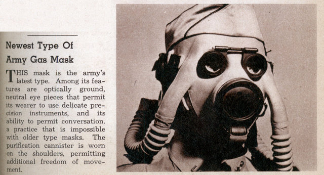 gas mask. Newest Type Of Army Gas Mask