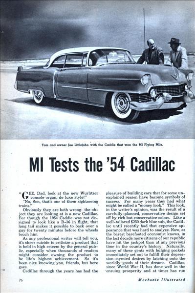 Mechanix Illustrated Aug 1954 Modern Mechanix