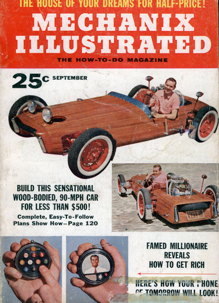 Build Your Own Mahogany Sports Car