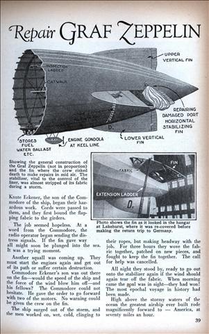 Airships Modern Mechanix Page 2