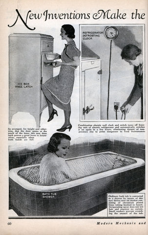 New Inventions Make The Housewife S Work Easier Modern