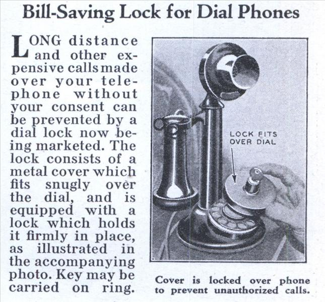 Think this was implemented with the first phones in Government?