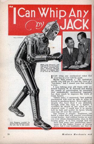 mechanical robots