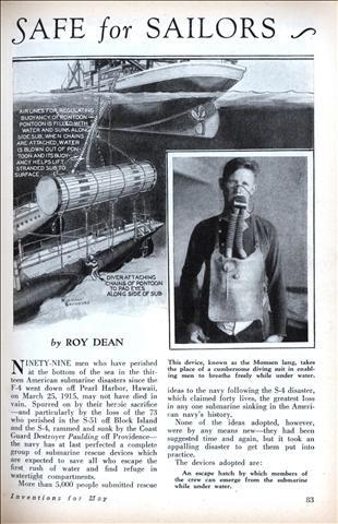 submarines | Modern Mechanix