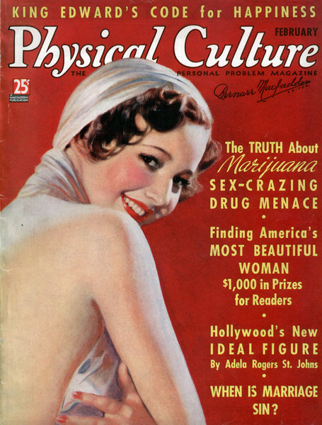 MARIJUANA: SEX-CRAZING DRUG MENACE! (Feb, 1937)