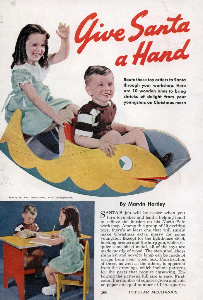 Give Santa A Hand Modern Mechanix