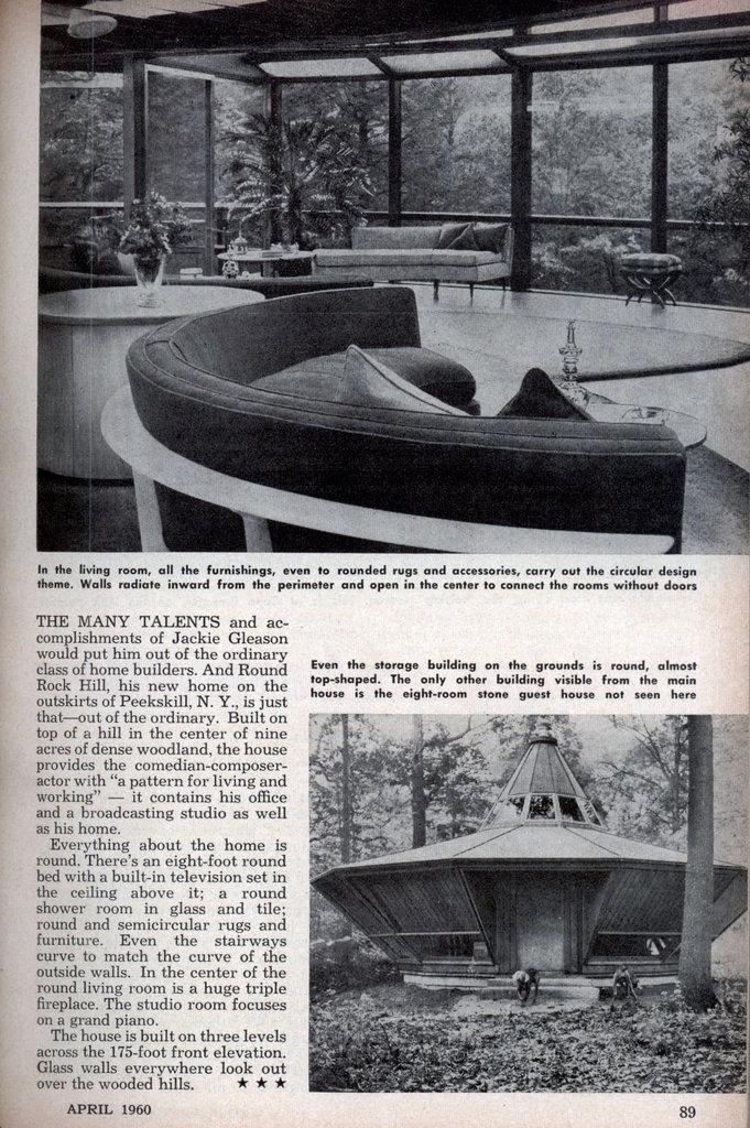 Jackie Gleason S Round House Modern Mechanix