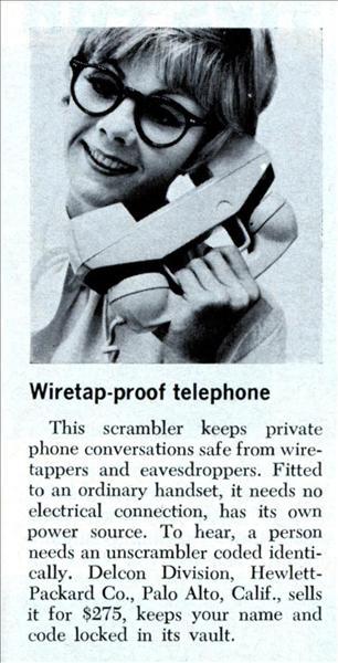 Kryptotelefon från förr