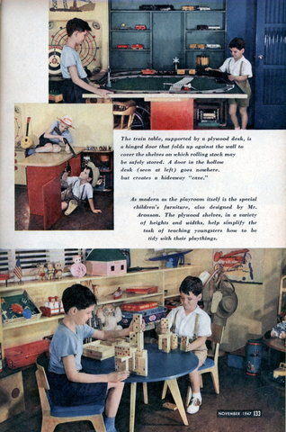 Toys and games modern mechanix page 19 - Kids rumpus room ideas ...