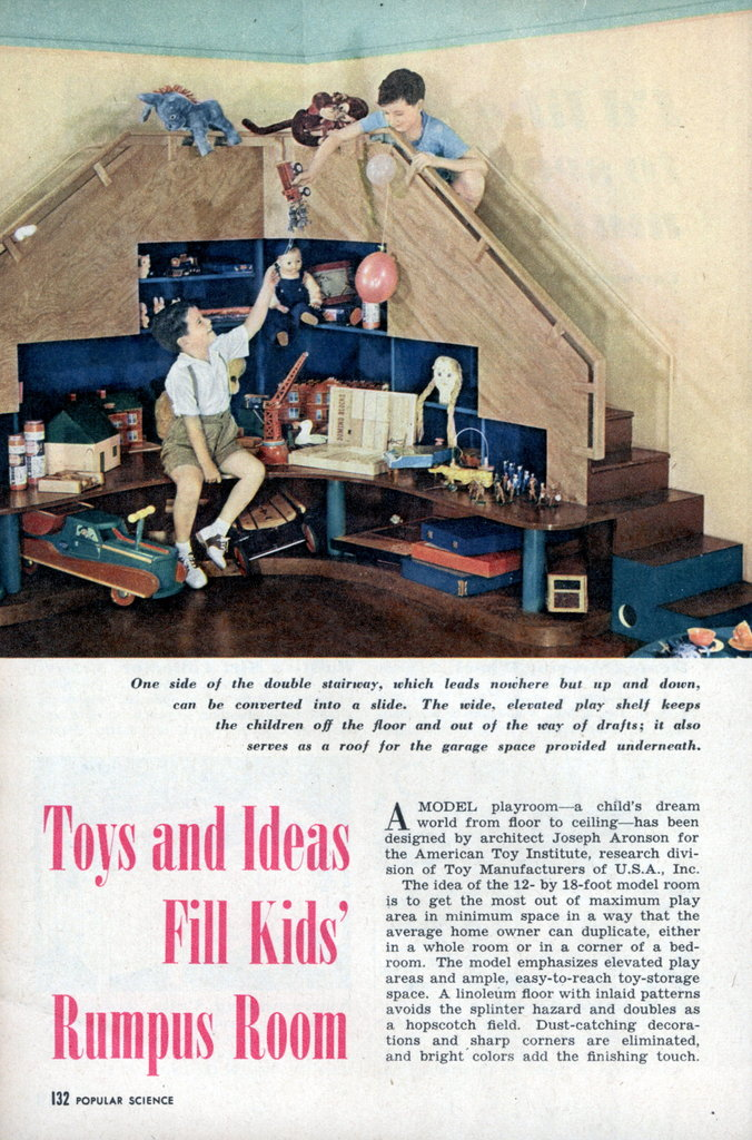 Toys and ideas fill kids rumpus room modern mechanix - Kids rumpus room ideas ...