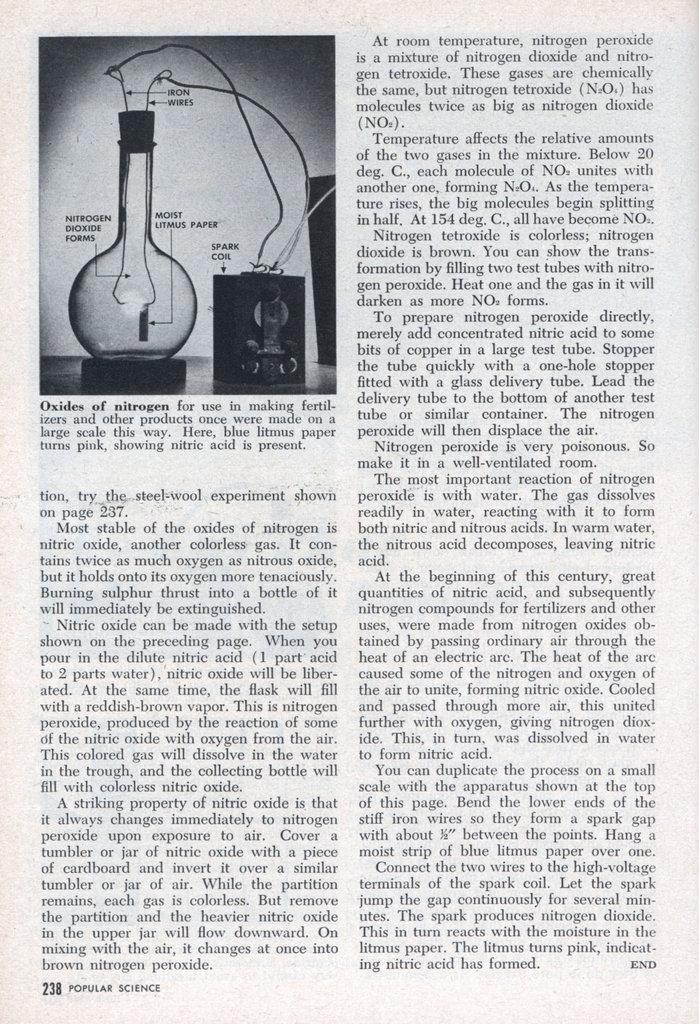 how to make nitrous oxide