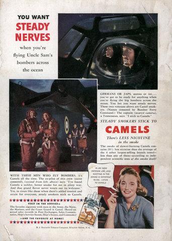 Publicidad sobre cigarrillos(antes y ahora)