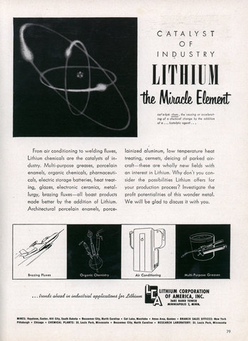 LITHIUM The Miracle Element 2011