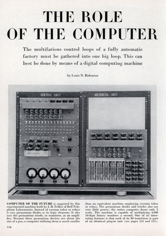 computer the remarkable scientific invention A scientific invention this amazing accomplishment is likely to affect the 21st century as profoundly as the invention of the computer it is a remarkable.