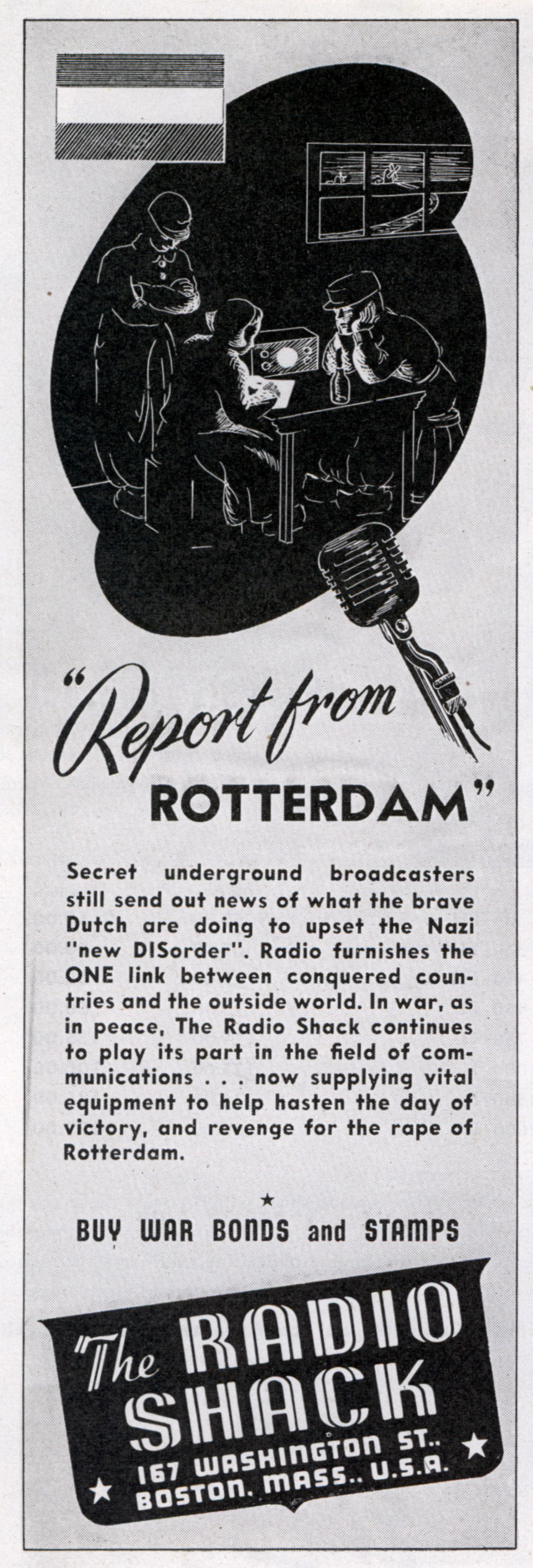 The Radio Shack - published in QST - April 1944