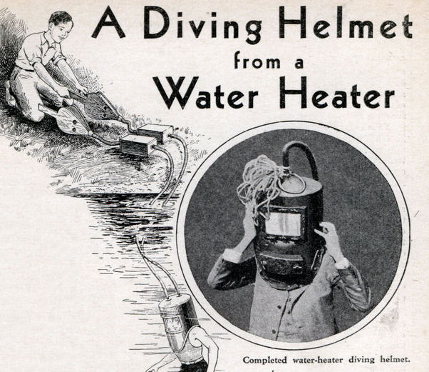 Water Heater Helmet